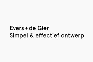 Evers + deGier